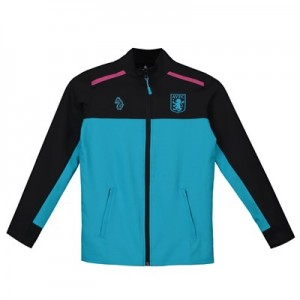 Aston Villa Full Zip Travel Jacket - Blue - Kids