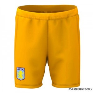 Aston Villa Away Goalkeeper Shorts 2019-20 – Kids