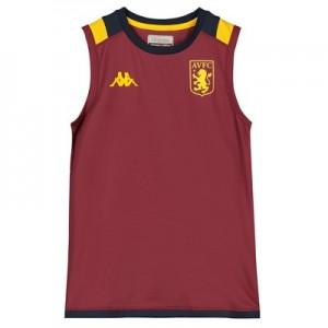 Aston Villa Sleeveless Training Top – Claret – Kids