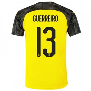 BVB Cup Home Shirt 2019-20 with Guerreiro 13 printing