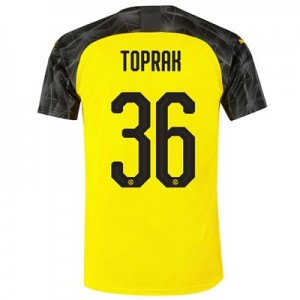 BVB Cup Home Shirt 2019-20 with Toprak 36 printing