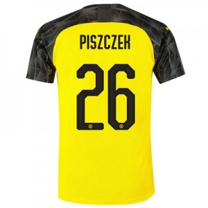BVB Cup Home Shirt 2019-20 with Piszczek 26 printing