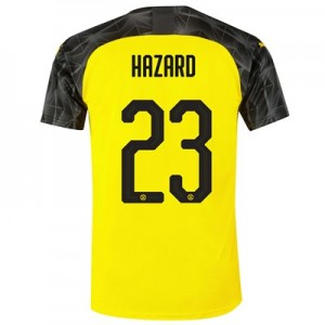 BVB Cup Home Shirt 2019-20 with Hazard 23 printing