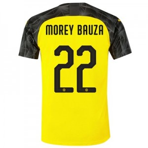 BVB Cup Home Shirt 2019-20 with Morey Bauza 22 printing