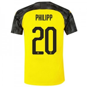 BVB Cup Home Shirt 2019-20 with Philipp 20 printing