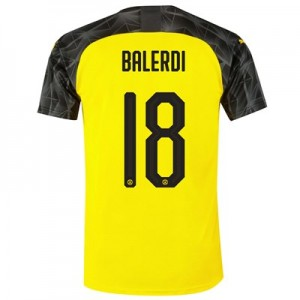 BVB Cup Home Shirt 2019-20 with Balerdi 18 printing