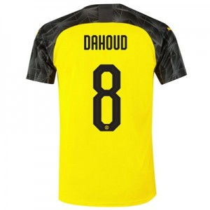 BVB Cup Home Shirt 2019-20 with Dahoud 8 printing