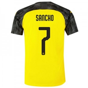 BVB Cup Home Shirt 2019-20 with Sancho 7 printing