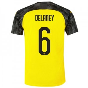 BVB Cup Home Shirt 2019-20 with Delaney 6 printing