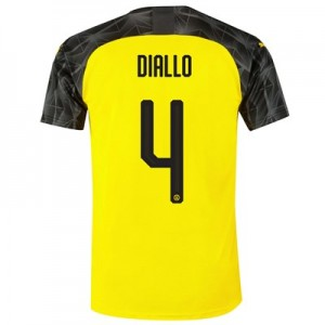 BVB Cup Home Shirt 2019-20 with Diallo 4 printing