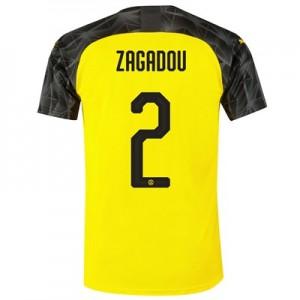 BVB Cup Home Shirt 2019-20 with Zagadou 2 printing