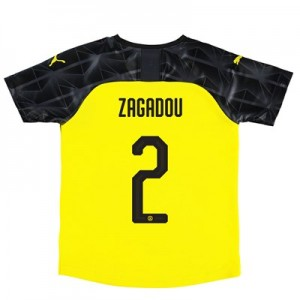 BVB Cup Home Shirt 2019-20 - Kids with Zagadou 2 printing
