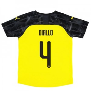 BVB Cup Home Shirt 2019-20 – Kids with Diallo 4 printing
