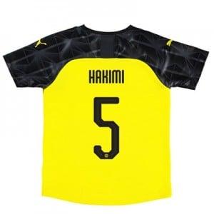 BVB Cup Home Shirt 2019-20 – Kids with Hakimi  5 printing