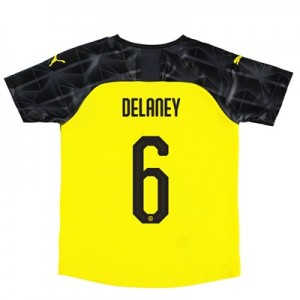 BVB Cup Home Shirt 2019-20 - Kids with Delaney 6 printing