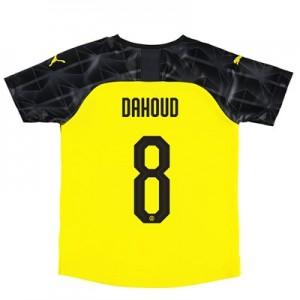BVB Cup Home Shirt 2019-20 – Kids with Dahoud 8 printing