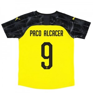 BVB Cup Home Shirt 2019-20 – Kids with Paco Alcacer 9 printing