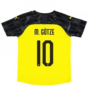 BVB Cup Home Shirt 2019-20 – Kids with M. Götze 10 printing