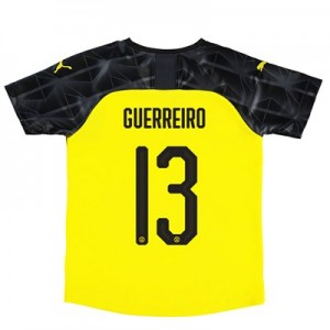 BVB Cup Home Shirt 2019-20 – Kids with Guerreiro 13 printing