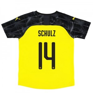 BVB Cup Home Shirt 2019-20 – Kids with Schulz 14 printing