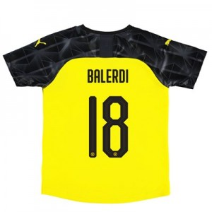 BVB Cup Home Shirt 2019-20 – Kids with Balerdi 18 printing