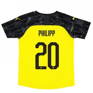BVB Cup Home Shirt 2019-20 – Kids with Philipp 20 printing