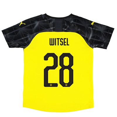 BVB Cup Home Shirt 2019-20 - Kids with Witsel 28 printing