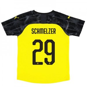 BVB Cup Home Shirt 2019-20 – Kids with Schmelzer 29 printing