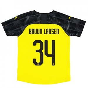BVB Cup Home Shirt 2019-20 – Kids with Bruun Larsen 34 printing