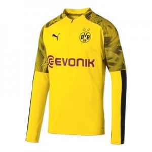 BVB 1/4 Zip Training Top - Yellow