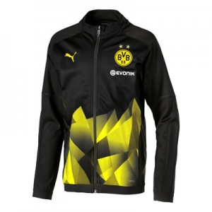 BVB Stadium Jacket – Black – Kids