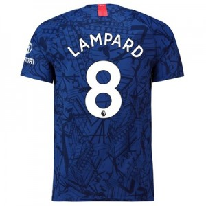 Chelsea Home Vapor Match Shirt 2019-20 with Lampard 8 printing