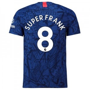Chelsea Home Vapor Match Shirt 2019-20 with Super Frank 8 printing