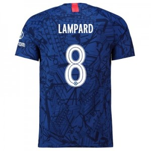 Chelsea Home Cup Vapor Match Shirt 2019-20 with Lampard 8 printing