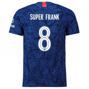 Chelsea Home Cup Vapor Match Shirt 2019-20 with Super Frank 8 printing