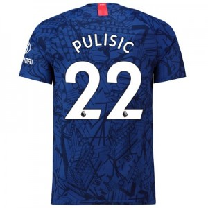 Chelsea Home Vapor Match Shirt 2019-20 with Pulisic 22 printing