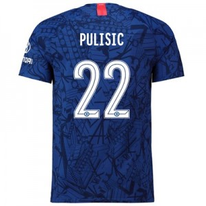 Chelsea Home Cup Vapor Match Shirt 2019-20 with Pulisic 22 printing