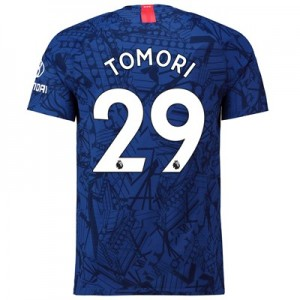 Chelsea Home Vapor Match Shirt 2019-20 with Tomori 29 printing