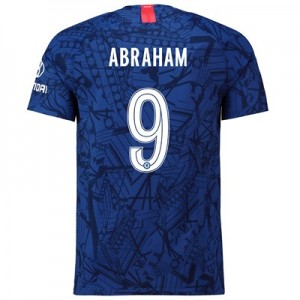 Chelsea Home Cup Vapor Match Shirt 2019-20 with Abraham 9 printing
