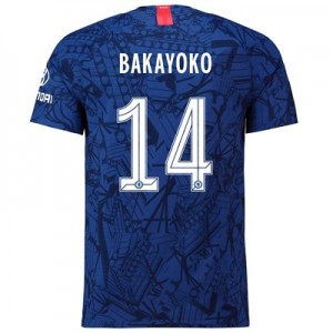 Chelsea Home Cup Vapor Match Shirt 2019-20 with Bakayoko  14 printing