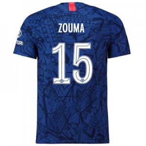 Chelsea Home Cup Vapor Match Shirt 2019-20 with Zouma  15 printing