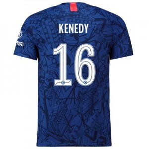 Chelsea Home Cup Vapor Match Shirt 2019-20 with Kenedy 16 printing