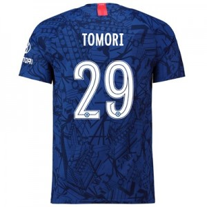 Chelsea Home Cup Vapor Match Shirt 2019-20 with Tomori 29 printing