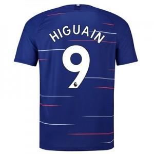 Chelsea Home Stadium Shirt 2018-19 with Higuain 9 printing