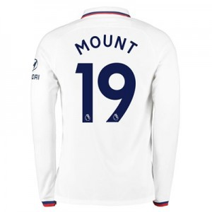 Chelsea Away Stadium Shirt 2019-20 - Long Sleeve with Mount 19 printing