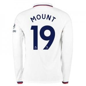 Chelsea Away Stadium Shirt 2019-20 – Long Sleeve with Mount 19 printing