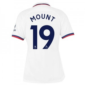 Chelsea Away Stadium Shirt 2019-20 – Womens with Mount 19 printing