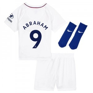 Chelsea Away Stadium Kit 2019-20 - Infants with Abraham 9 printing
