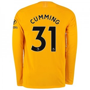 Chelsea Home Stadium Goalkeeper Shirt 2019-20 – Long Sleeve – Kids with Cumming 31 printing