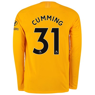 Chelsea Home Stadium Goalkeeper Shirt 2019-20 - Long Sleeve - Kids with Cumming 31 printing